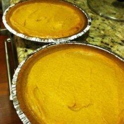 Justin's Homemade Pumpkin Pie