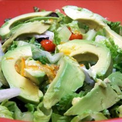 Jicama and Avocado Salad With Lime Dressing