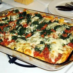 Ground Beef and Spinach Casserole