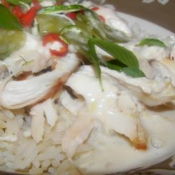 Coconut and Basil Chicken
