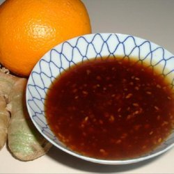 Orange-Ginger Sesame Sauce