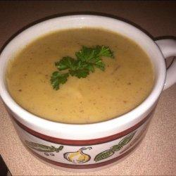 Creamy   Vegan Potato-Leek Soup