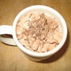 Molten Chocolate Hot Milk Drink
