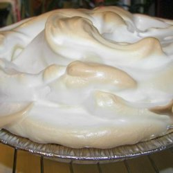 Piled High Lemon Meringue Pie