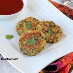 Vegetarian Spinach Patties