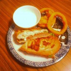 Roast Beef Panini With Horseradish Mayo