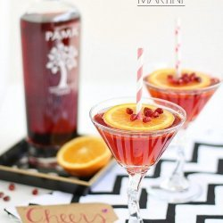 Pomegranate Martinis