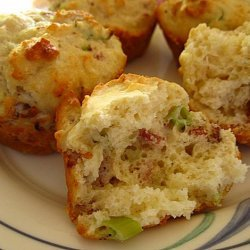 Bacon, Gruyère, and Scallion Muffins