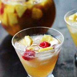 Peach-Pineapple Sangria