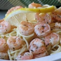 Shrimp Lemon Pepper Linguini recipe