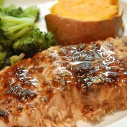Balsamic-Glazed Salmon Fillets recipe