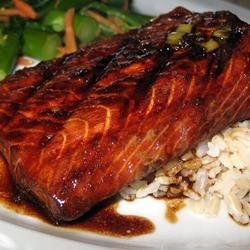 Firecracker Grilled Alaska Salmon recipe