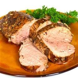 Balsamic Roasted Pork Loin recipe