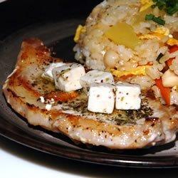Pork Chop and Feta Skillet recipe