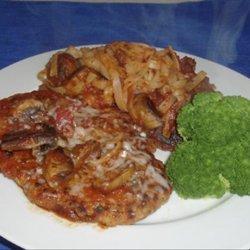 Tenderized Pork Steak With Salsa & Pasta for 2