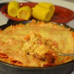 Dorito Rotel Chicken Casserole