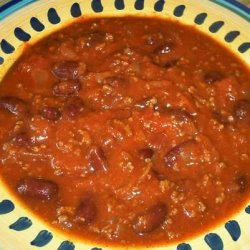 Basic Spicy Chili recipe