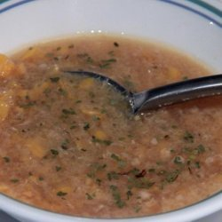 Vegetarian Cream-Style Corn Soup (China)