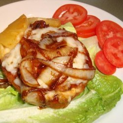 Red Robin  Teriyaki and Pineapple Burger
