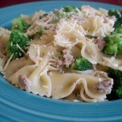 Broccoli Macaroni With Sausage