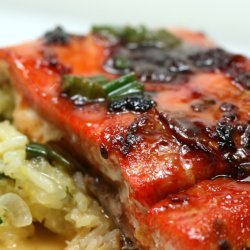 Slow Roasted Chipotle Salmon