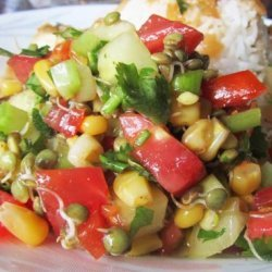 Spicy Mexican Salad (Vegan With Raw Option)