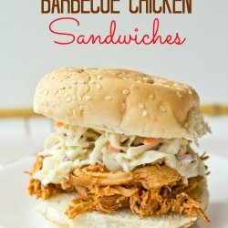 Slow Cooker Barbecue Sandwiches