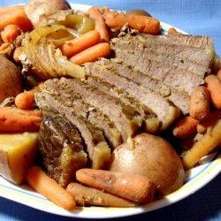 Don's Pot Roast (Crock Pot)