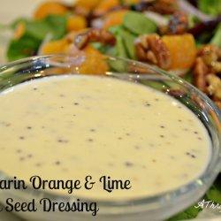 Orange Poppy Seed Dressing