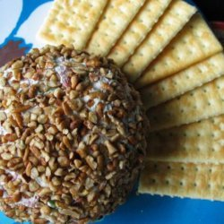 Aunt Sue's Smoky Cream Cheese Cheese Ball