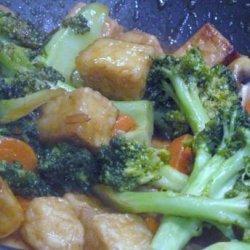 Spicy Tofu and Vegetable Stir-fry