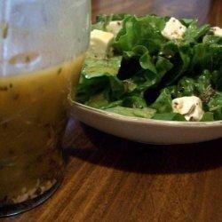 Fresh Lemon Basil Salad Dressing