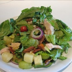 Chicken Salad With Sweet & Spicy Lemon Ginger Dressing