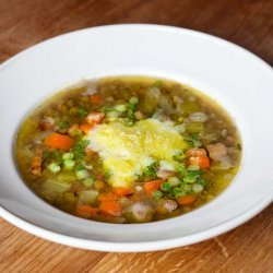 Smoked Bacon and Lentil Soup