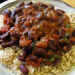 Punjabi Rajma (Kidney Beans) recipe