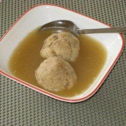 Kittencal's Matzo Ball Soup