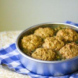 Savory Chicken & Biscuits