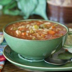 Chicken Vegetable Pasta Soup