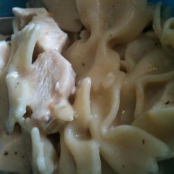 Easy Homestyle Low fat Chicken and Noodles