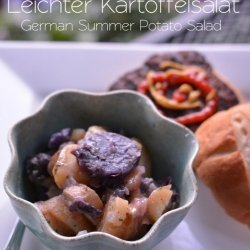 German Potato Salad (Kartoffelsalat)