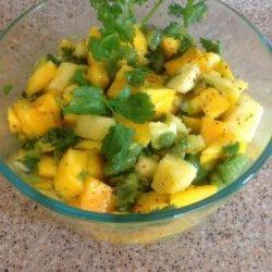 Mango, Pineapple, & Kiwi Salad