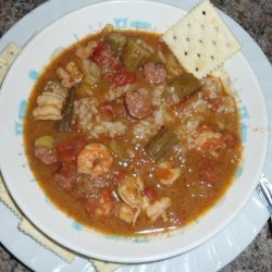 Shrimp Gumbo from Scratch
