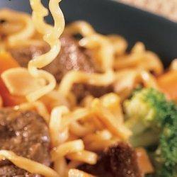 Beef Lo Mein - Ww