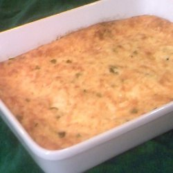 Cheese and Jalapeno Grits Casserole