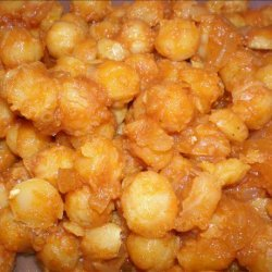 Curried Chickpeas & Onions