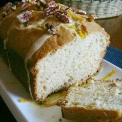Orange pecan tea bread