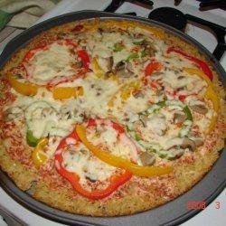 Vegetarian - Rice Crust Pizza