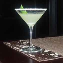 Lemon Vanilla Mint Martini