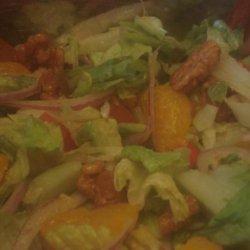 Candied Walnut Orange Salad