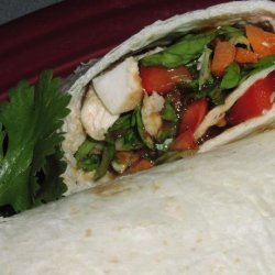Schlotzsky's Asian Chicken Wrap
